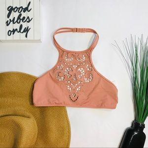 • Tori Praver Crochet Bikini Top •